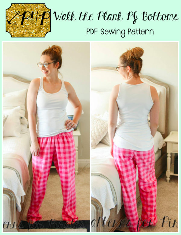 free flannel pajama pant sewing pattern