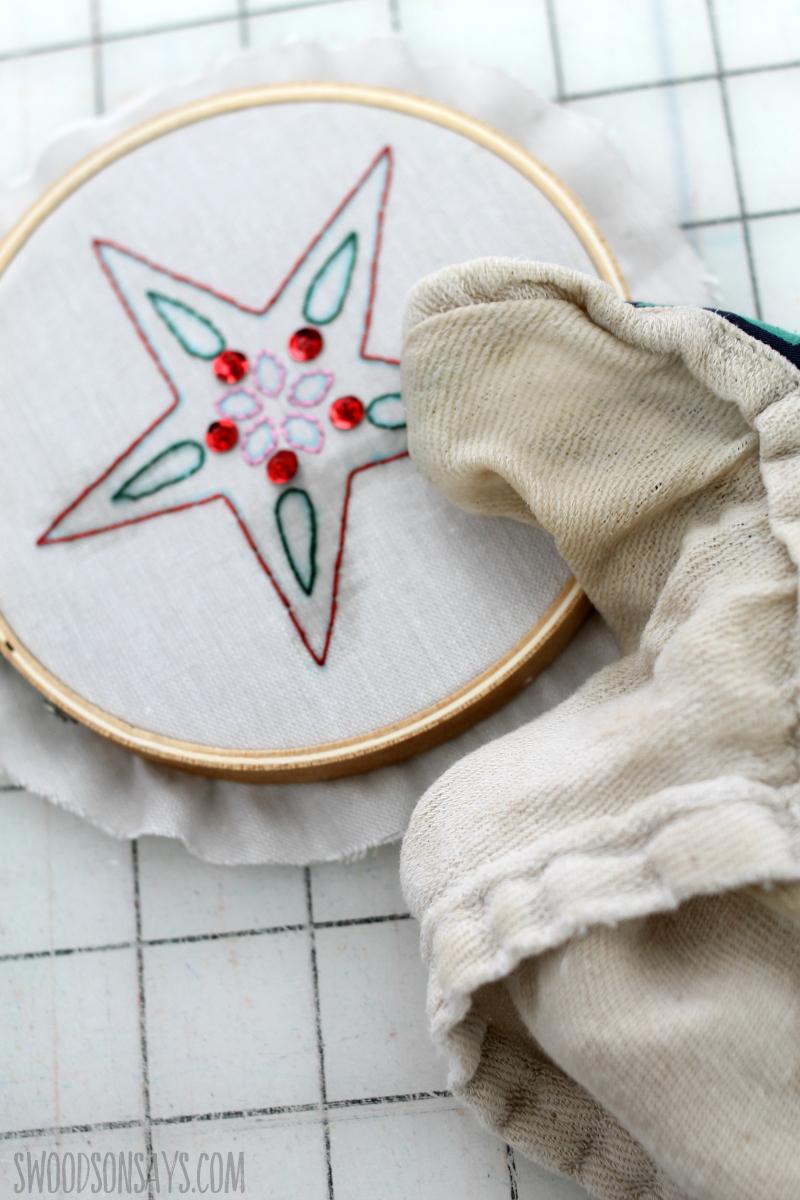 wash away fabric pen cricut