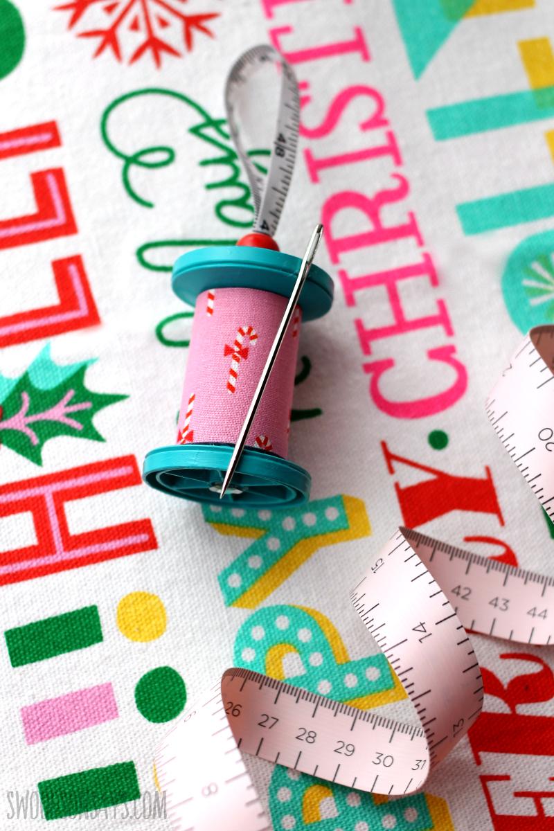 sewing ornament diy