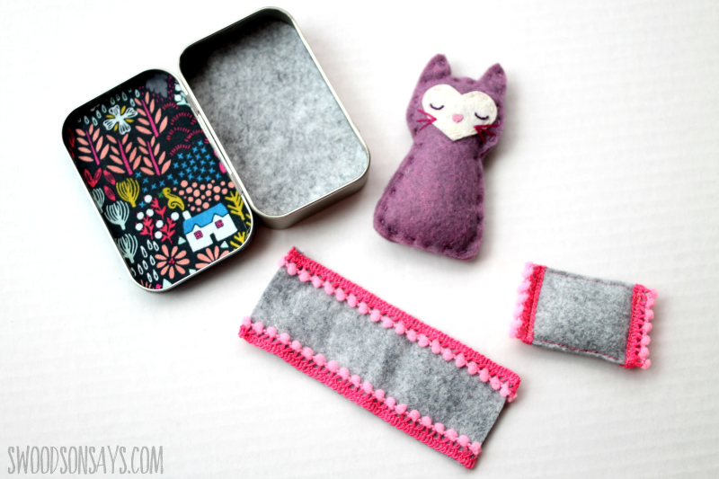 tiny felt animal accessories