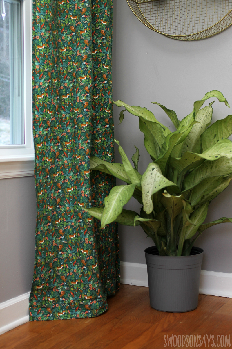 diy kids room curtains
