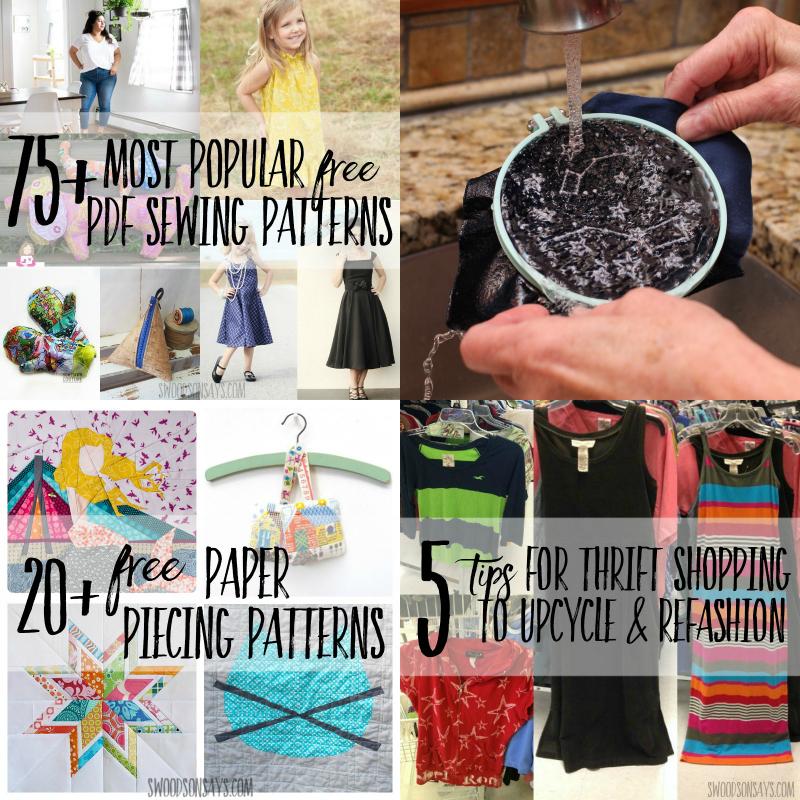 popular 2018 sewing posts blogger