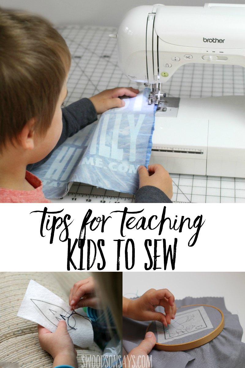 kids sewing tips