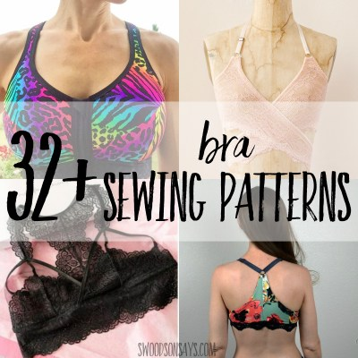 Bra sewing patterns
