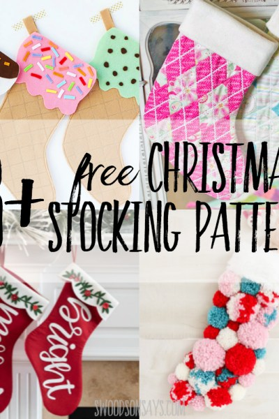 28+ free Christmas stocking patterns