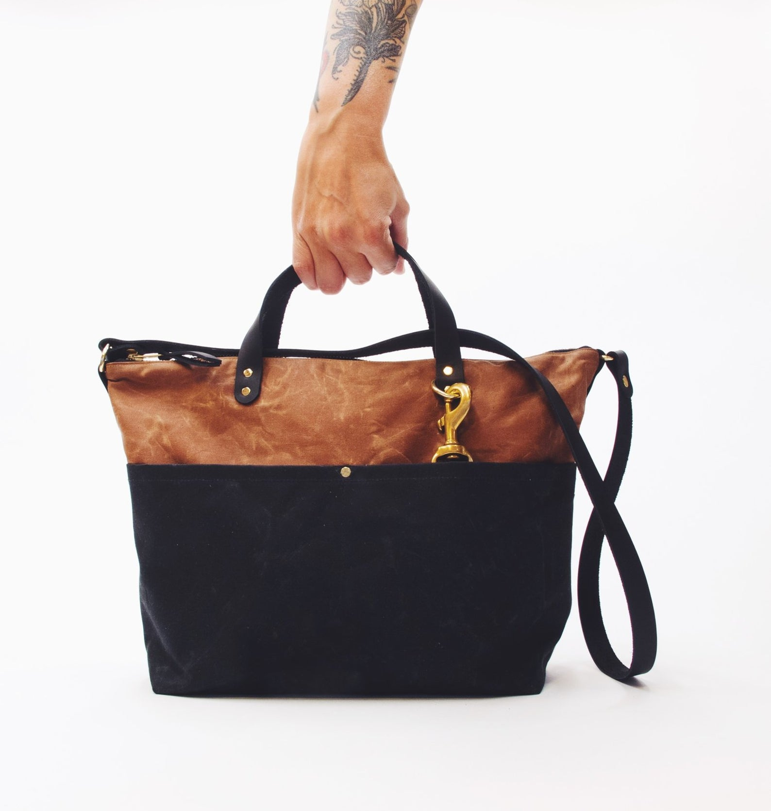 leather tote bag sewing kit