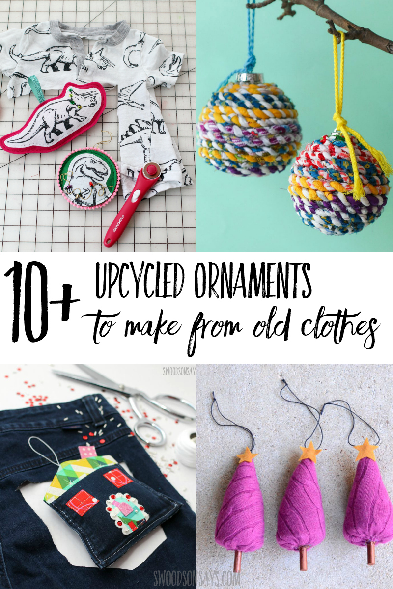 upcycled ornament tutorials