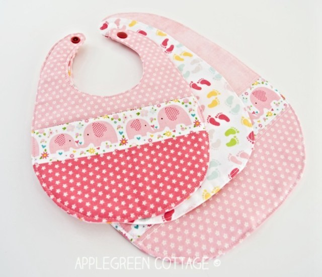 free baby bib pattern
