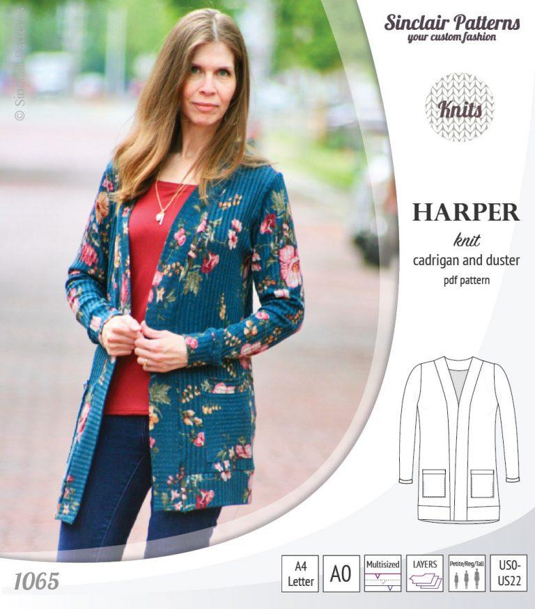 free women's cardigan pattern