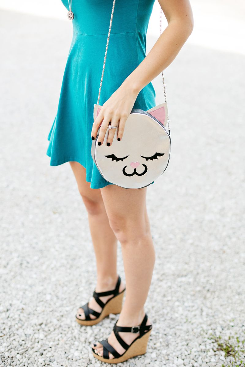 how to sew a cat purse
