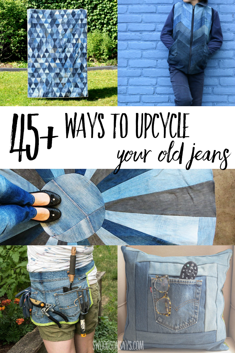 upcycled denim ideas