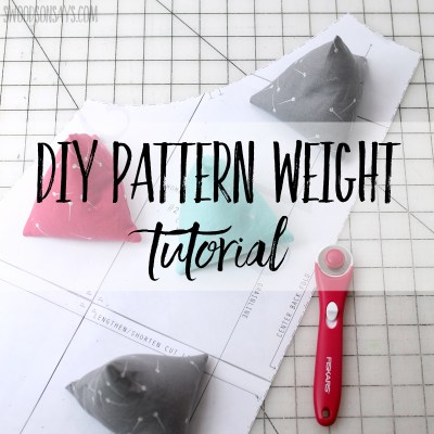 DIY pattern weight tutorial