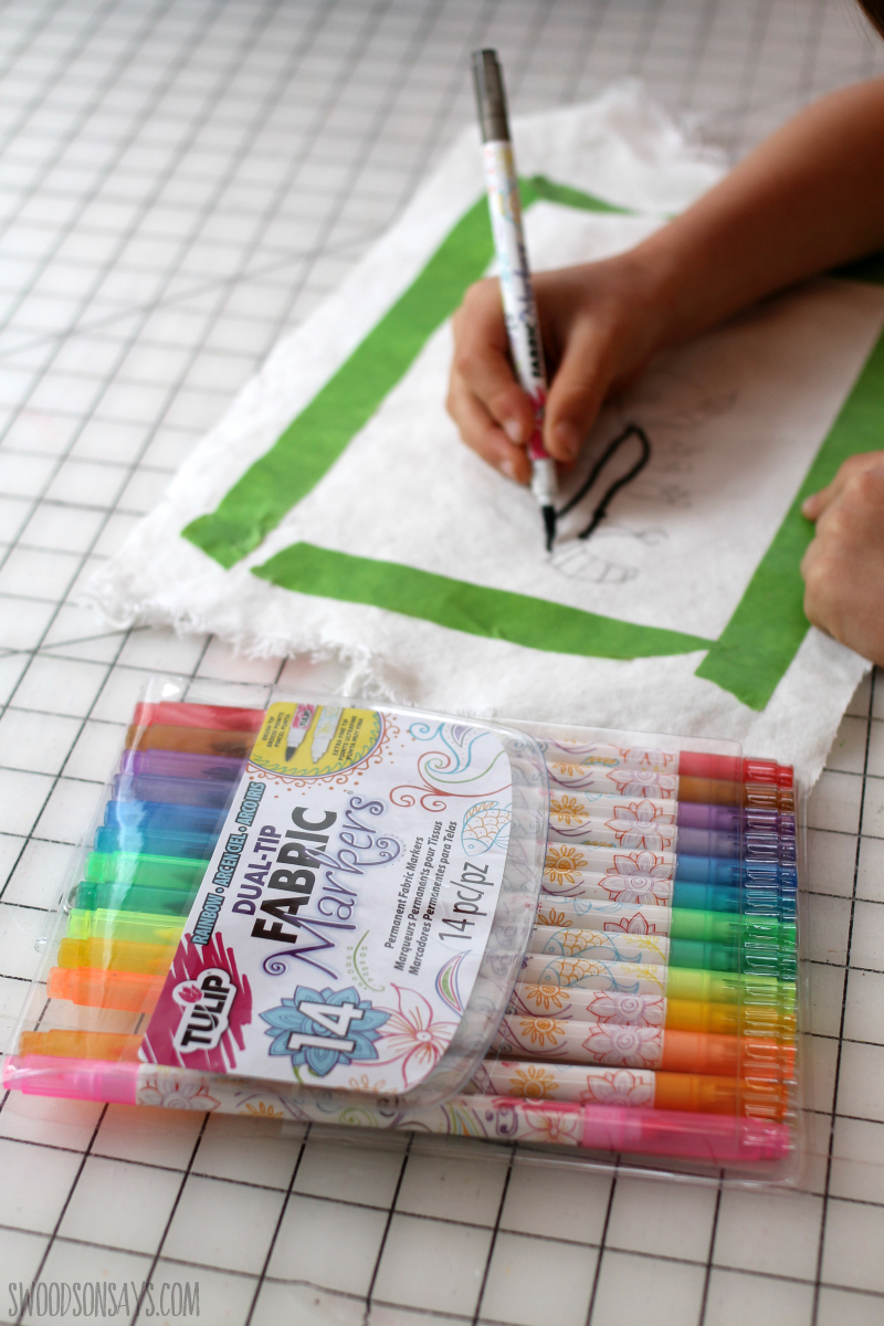 fabric markers for kids