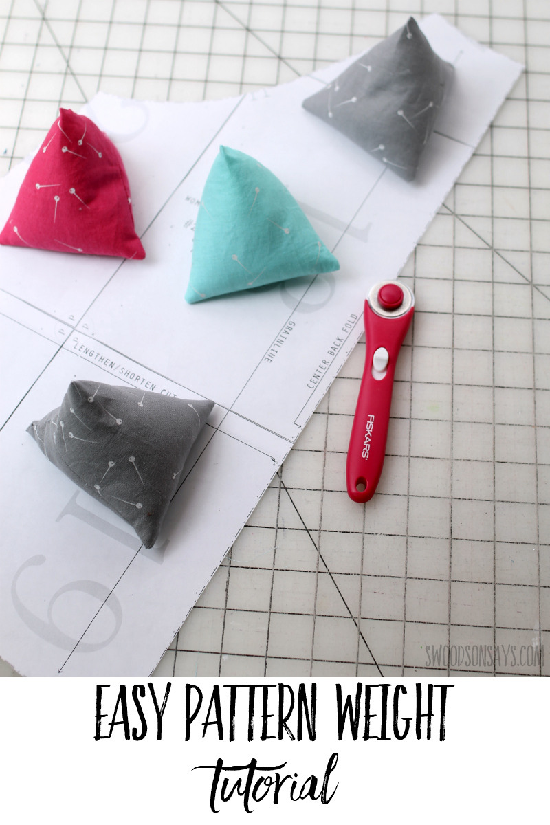 how to make pattern weights