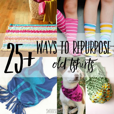 25+ ways to repurpose old t shirts