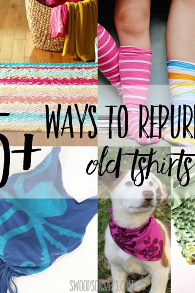 25+ ways to repurpose old t shirts