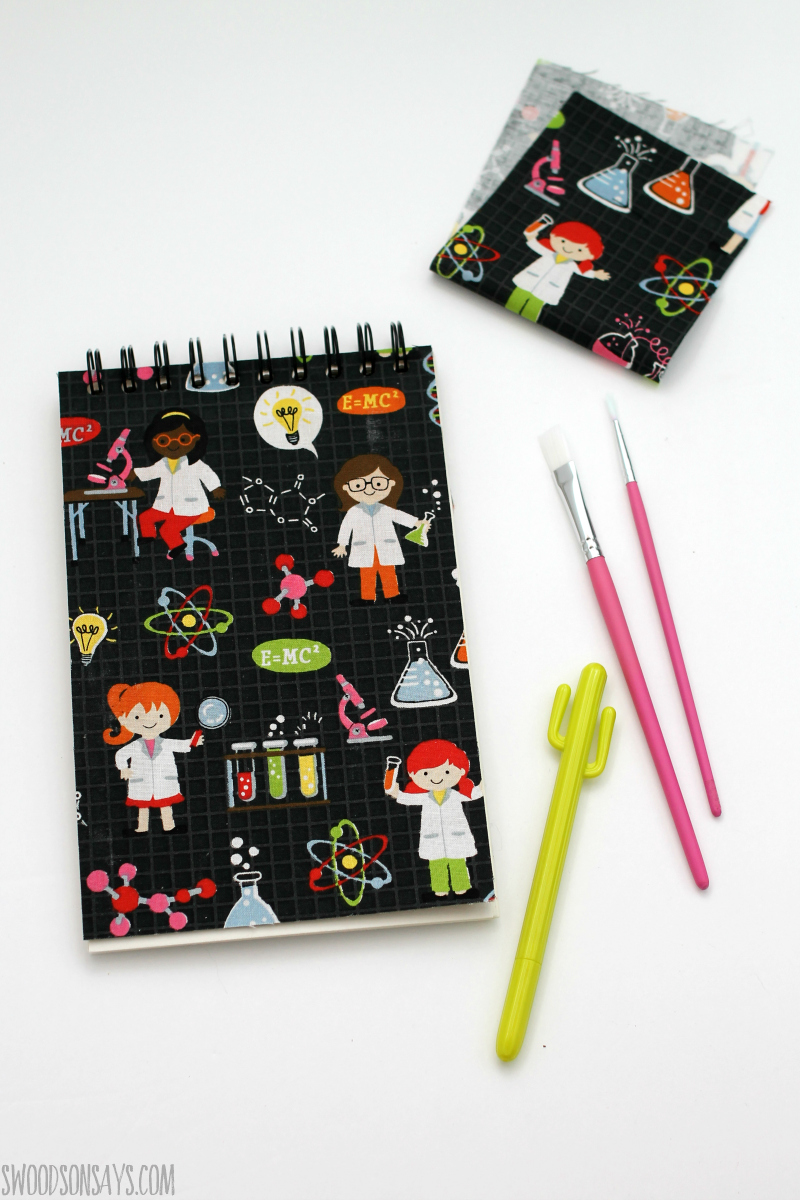 handmade notebook idea