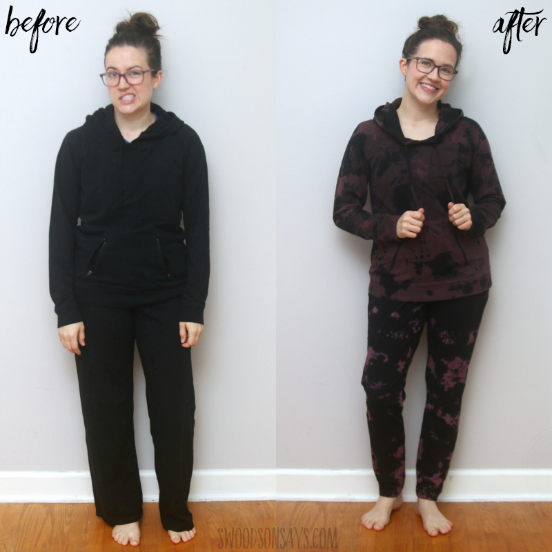 sweatsuit refashion