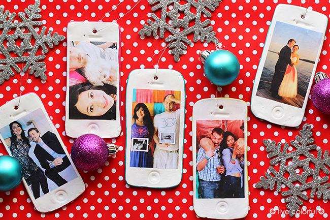 iphone ornament photo diy