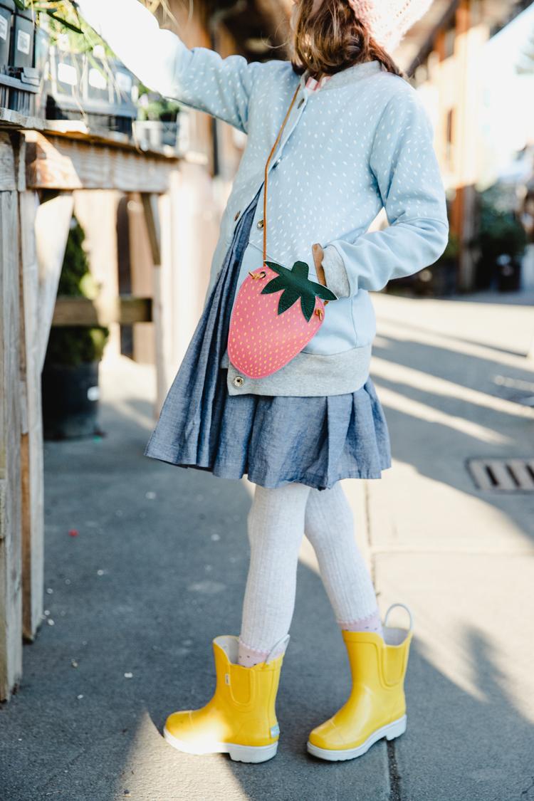 free strawberry purse tutorial