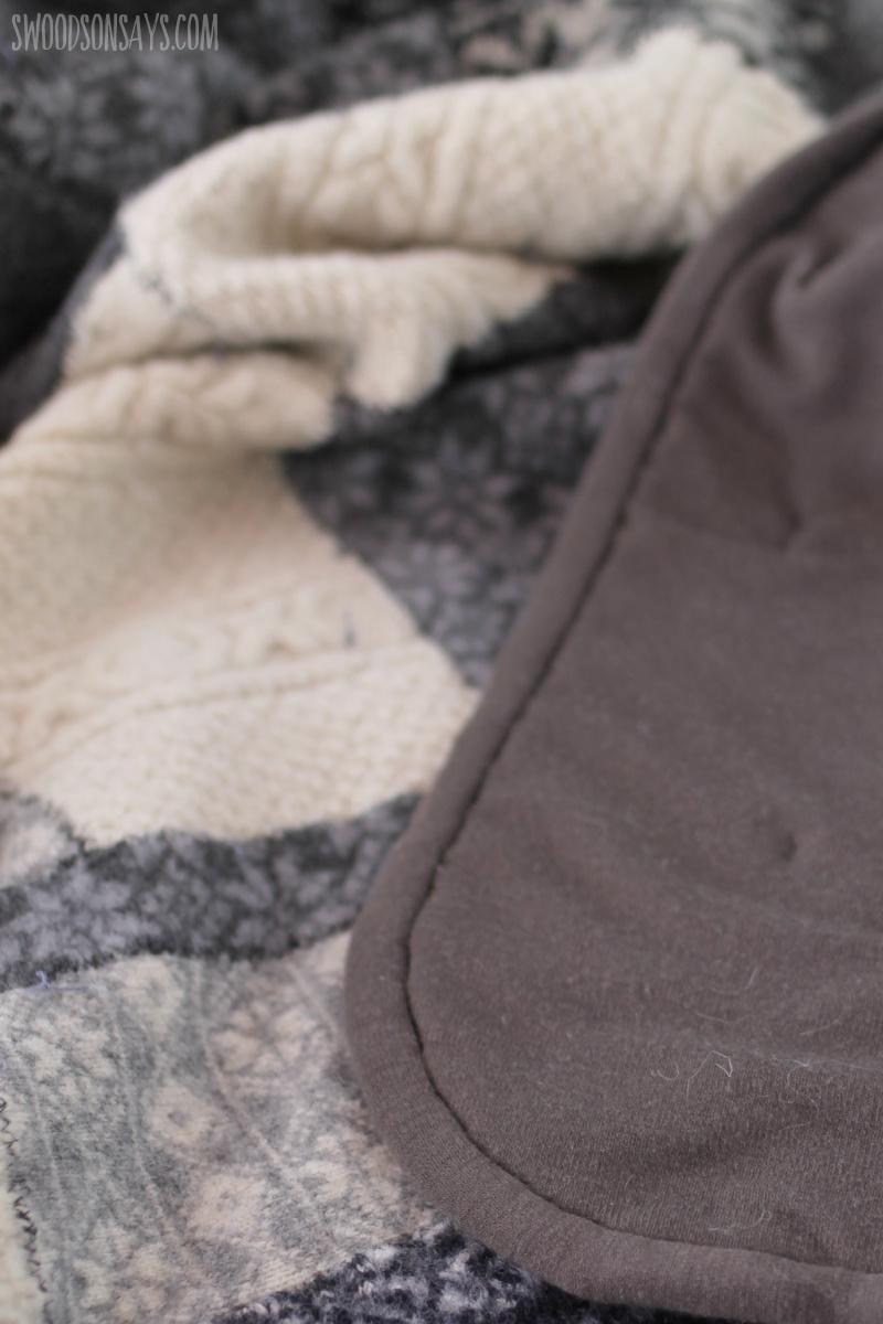 wool knit binding
