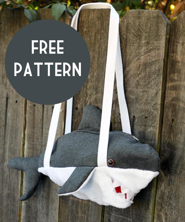 shark purse pattern