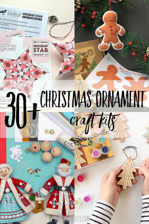diy christmas ornament kits