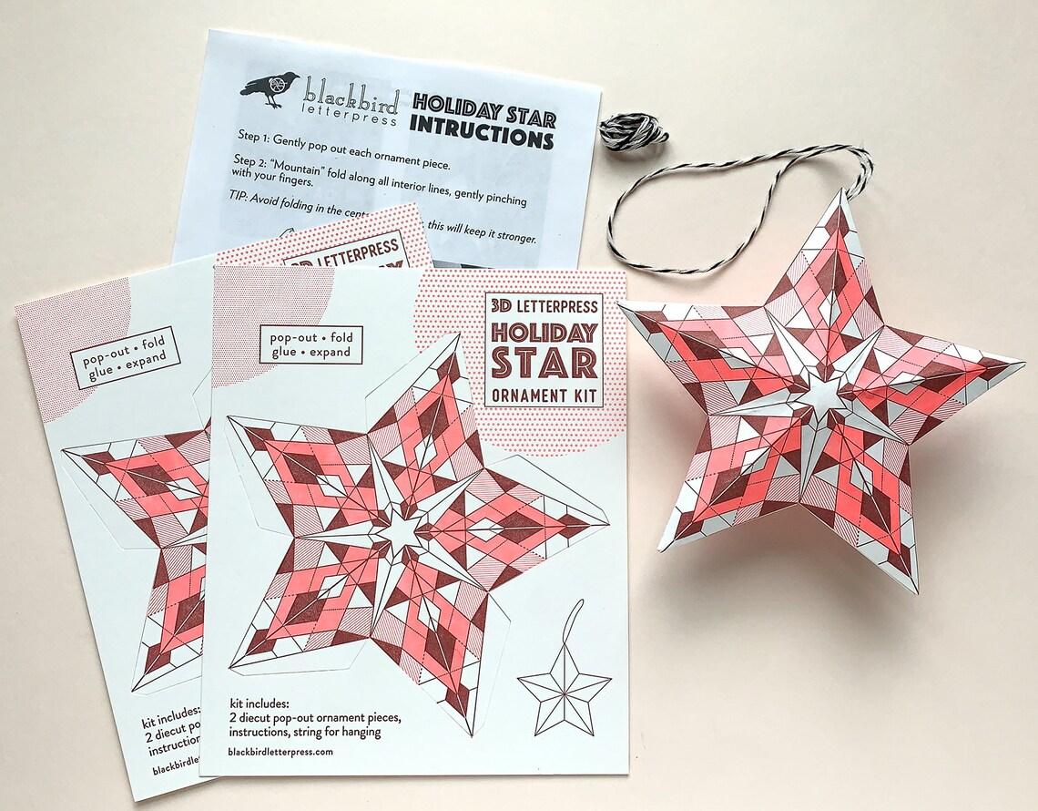paper ornament kit
