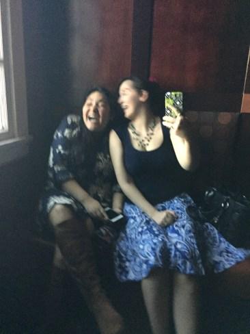 We are bad at mirror selfies.