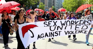 Photo from Sex Workers Rights Rally in Vancouver - http://vancouver.mediacoop.ca/events/20463