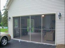 Sliding Garage Door Screen
