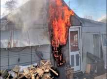 Garage Wood Burning Stove