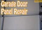 Replace Garage Door Panel