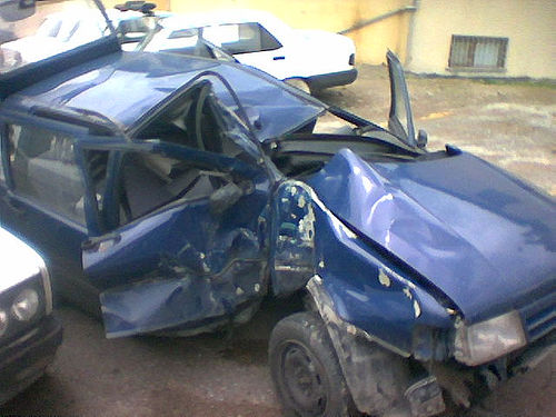 Car Crash  - or what PTSD is like - novel