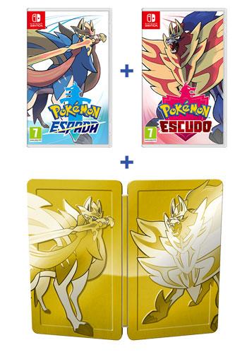Pack doble de <i>Pokémon Espada</i> y <i>Pokémon Escudo</i>