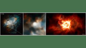 Giant star VY Canis Majoris does 'BattleGuise'