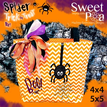 machine embroidery design in the hoop Halloween