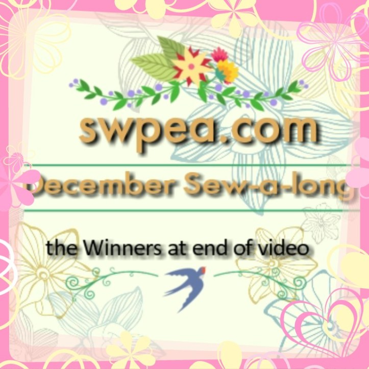 sew-a-long, december, winner