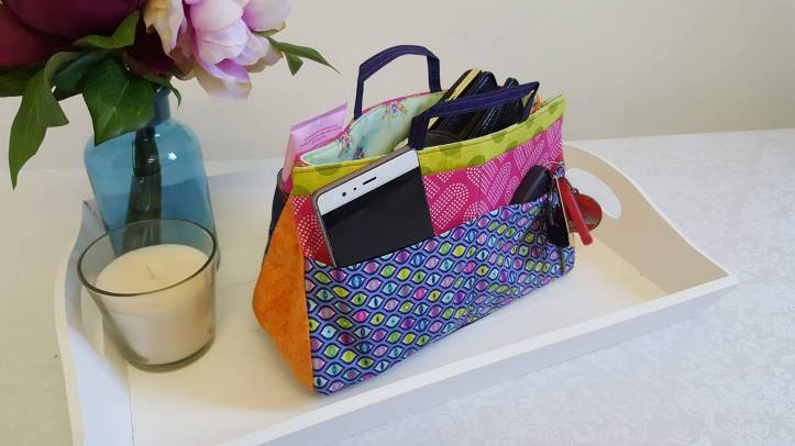 machine embroidery design in the hoop bag insert