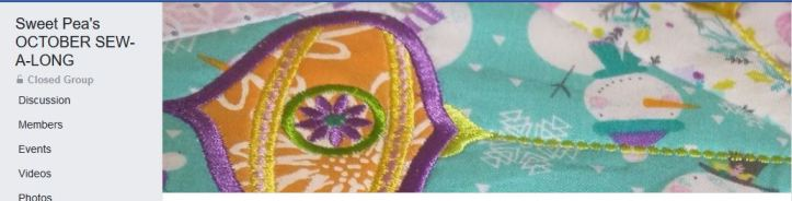 machine embroidery , in the hoop, sew-a-long
