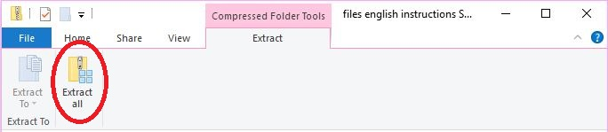 File extraction