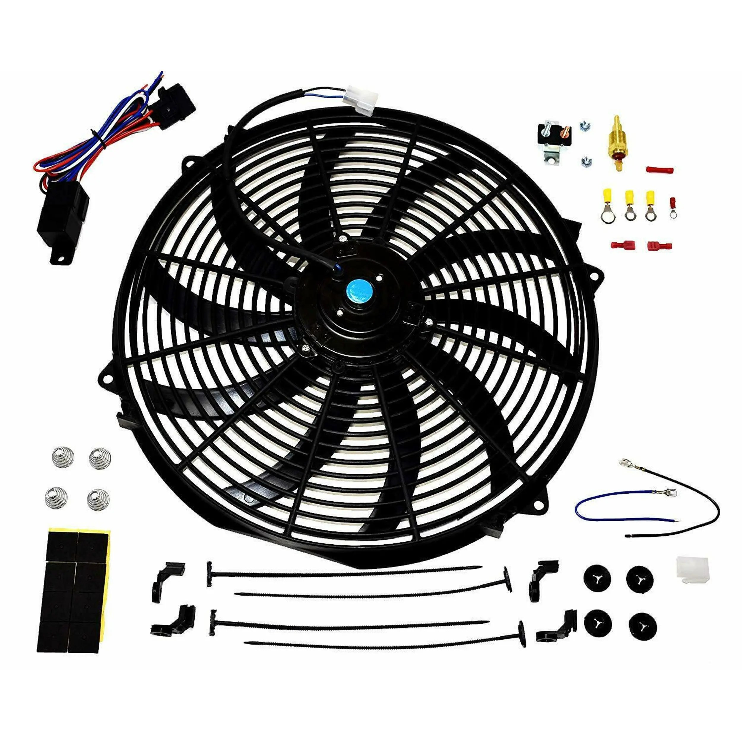 A Team Performance 16 Electric Radiator Cooling Fan Wide
