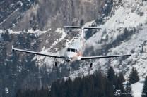 Pilatus PC-12/45 - cn: 508 - M-ICKY - CVF Courchevel 13.03.2016 by Gregory Manchon