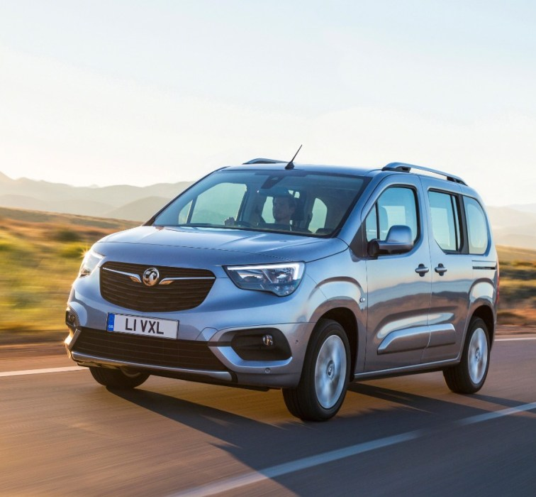 Vauxhall Reveals All New Combo Life