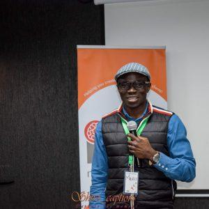 SWWE-Kenya-Volunteer-And-Executive-Director-Of-Baraza-Media Lab-Maurice-Otieno