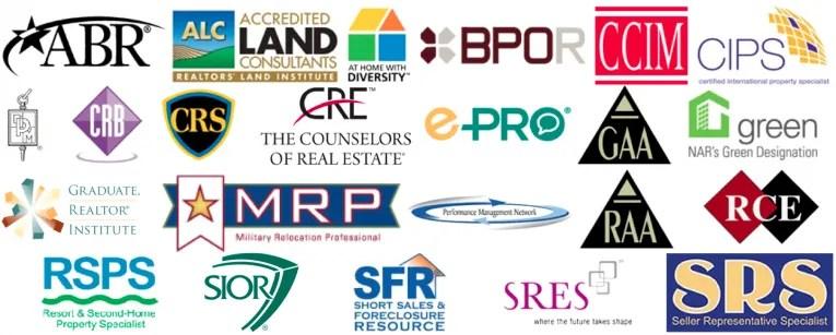 Real Estate Designations