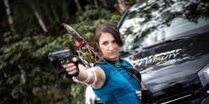 Lara Croft Shadow of the Tomb Raider cosplay by SxyBlood Cosplay