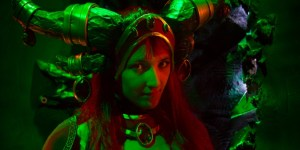 Alexstrasza from World of Warcraft at Meltdown Paris