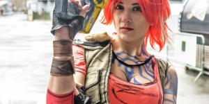 Lilith Firehawk from Borderlands 2 cosplay by SxyBlood Cosplay
