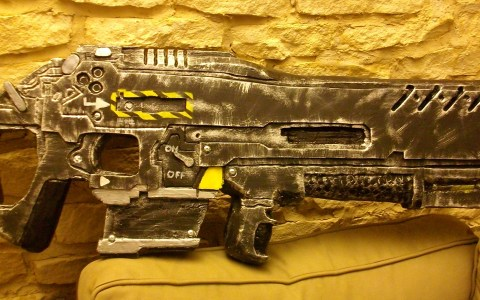 Jim Raynor C-14 Impaler Gauss rifle from Starcraft II by SxyBlood Cosplay